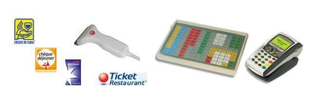 CAISSE CIBELITE + Ticket restaurant